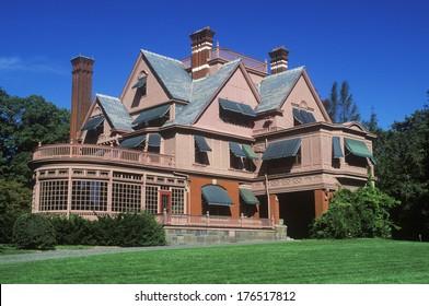 Exterior of Thomas Edison home, Edison National Park, West Orange, NJ