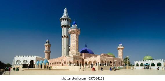 Exterior of Touba Mosque, center of Mouridism and Cheikh Amadou Bamba burial place - 17.11.2012 Touba, Senegal