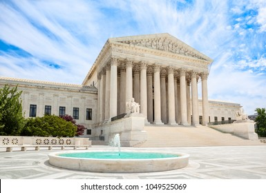 Exterior of the United States Supreme Court building in Washington, DC