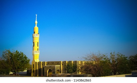 Exterior view to Abri mosque at Sudan