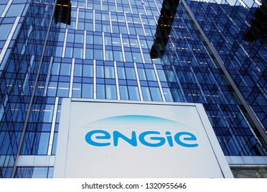 Exterior view of building of French gas and power group Engie company in Brussels, Belgium on Feb. 23, 2019