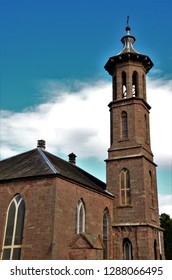 An exterior view of a church building in the Perthshire town of Blairgowrie