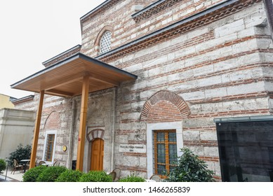Exterior view of Kilic Ali Pasha Hamam that is part of Ali Pasha Complex, a mosque complex designed and built between 1580 and 1587 by Mimar Sinan in Beyoglu,Istanbul,Turkey.25 July 2019