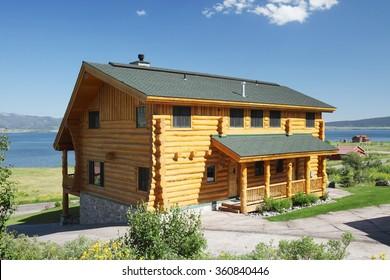 Strange Cabin Homes Images Stock Photos Vectors Shutterstock Download Free Architecture Designs Intelgarnamadebymaigaardcom