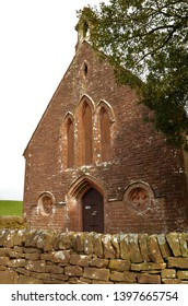 An exterior view of a rural church building in Dalton in the Scottish borders