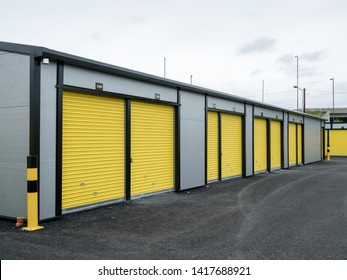 Exterior View of Self Storage Facilities (used for storage auctions)
