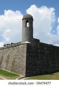 Exterior Wall of Fort Castillo de San Marcos Monument