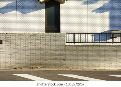 Exterior wall of a house