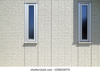 Exterior wall of housing