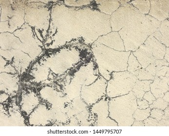 Exterior wall repaired cracks background