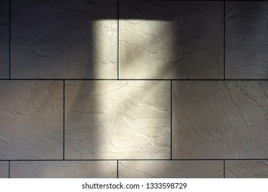 Exterior wall and shadow