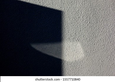 Exterior wall and shadow background