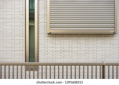 Exterior wall siding and fence