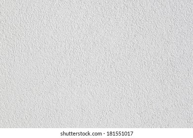 Exterior white wall of modern apartment building