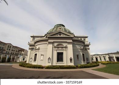"""ExteriorSan Francisco Historical Architecture Building """"Columbarium"""""""