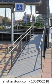 External Disabled Accessible Ramp For Wheelchair User