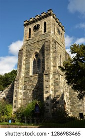 An external view of a church building in the Perthshire village of Birnam