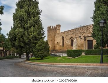 External view of the The Palacio de los Duques de Maqueda, also known as Palacio de La Cava