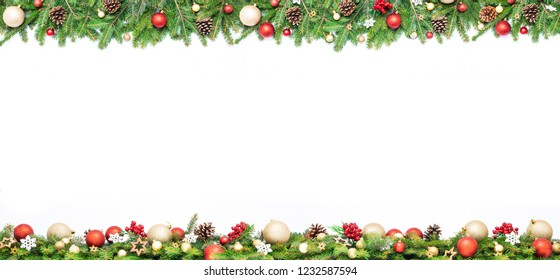 Christmas Border Design Png.Garland Border Images Stock Photos Vectors Shutterstock