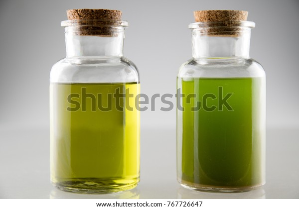 Extraction Cannabis Oil Ethanol Alcohol 2 Stock Photo (Edit