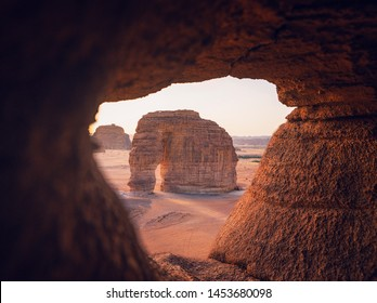 Extraordinary sandstone landscapes host extraordinary cultural and natural heritage. Surrounded with beautiful unique rock formation where you can only find in AlUla.