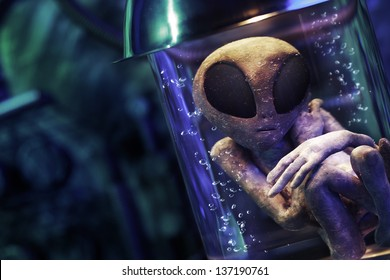 Extraterrestrial in a test tube