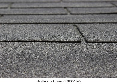 Extreme closeup of roof shingles