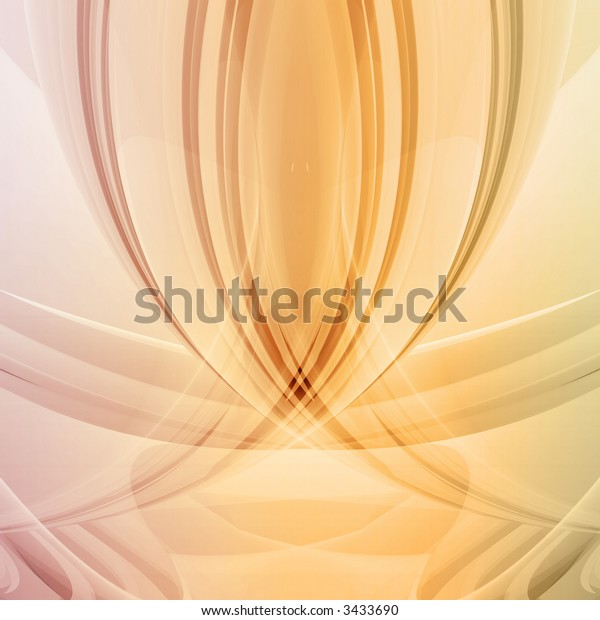 An extremely smooth abstract background.