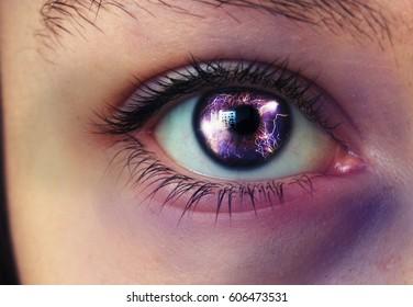 Eye.. - Shutterstock ID 606473531