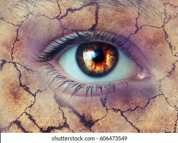 Eye..   - Shutterstock ID 606473549
