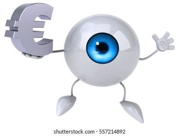 Eye - 3D Illustration