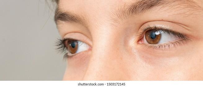 eye care concept high detail  macro shot