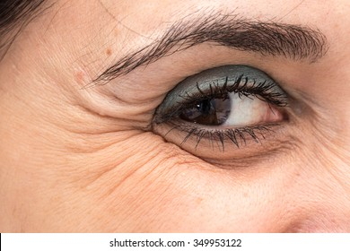 Crows Feet Images, Stock Photos & Vectors | Shutterstock