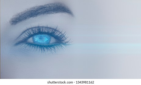In the eye of the future
