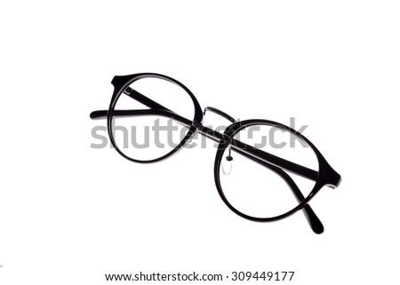 54f2af5539ee Eye Glasses Frames On White Background Stock Photo (Edit Now ...