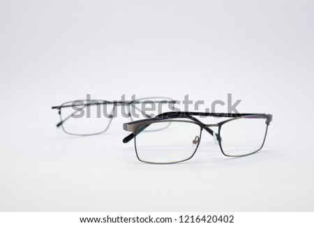 Eye Glasses Isolated On White Background Stock Photo Edit