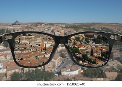 eye glasses with myopia polarize lens