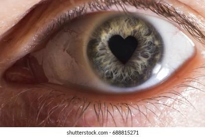 Eye, heart, soul