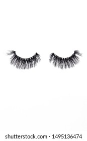 Eye lashes, fake lash, long and strong, product shot, white background