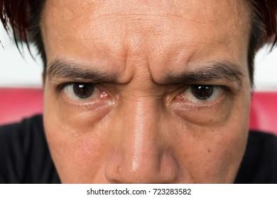 THE Eye  man Asian.