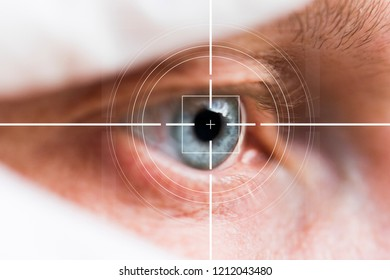Eye monitoring and treatment in virtual reality health.