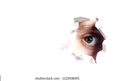 eye on paper