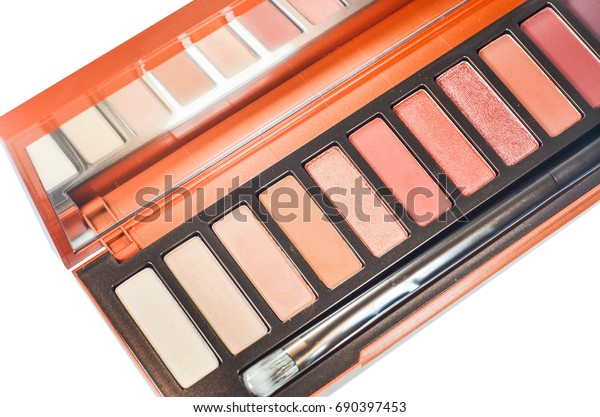 eye shadow palette background