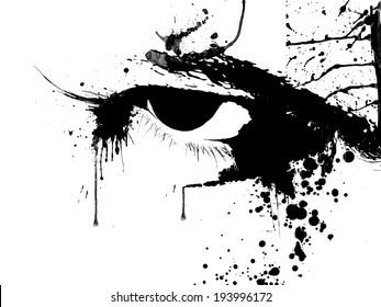 Eye splash