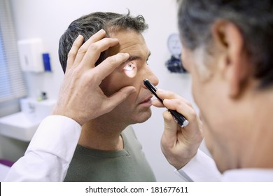Eye Symptomatology In A Man