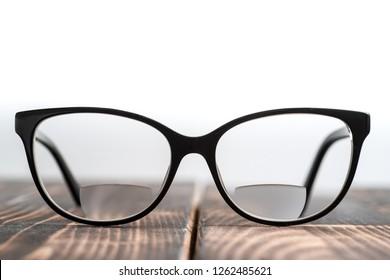 8ade36090ff Eyeglasses with bifocal lenses