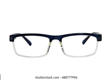 Eyeglasses isolated on white background with clipping path.