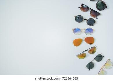 eyeglasses isolated on white, eyeglasses, glasses, sun glasses