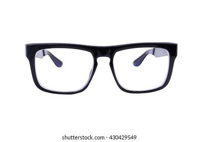 Eyeglasses isolated over white background