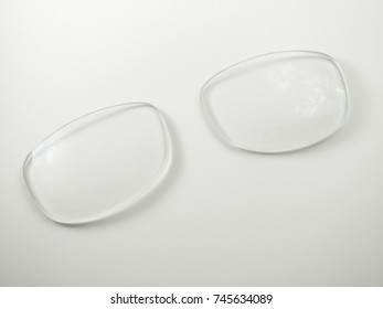 Eyeglasses lenses ,Damaged by scratching. Which affects the vision